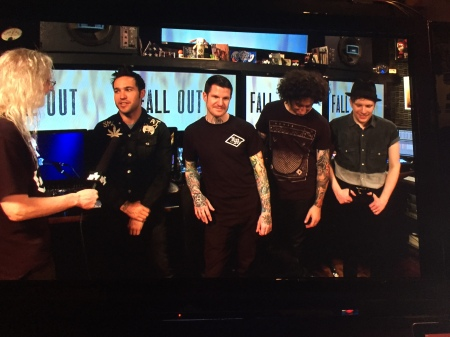 Fall Out Boy JBTV podcast photo