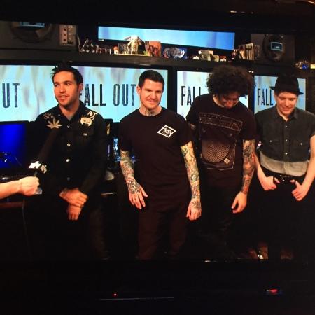 Fall Out Boy JBTV podcast photo