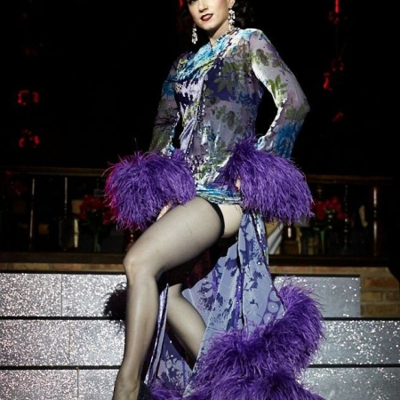 Podcast host and burlesque performer Michelle L'amour
