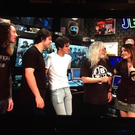 JBTV podcast with The Orwells